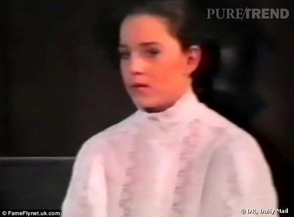 Kate Middleton à l'âge de 11 ans, alors qu'elle n'était pas encore princesse.