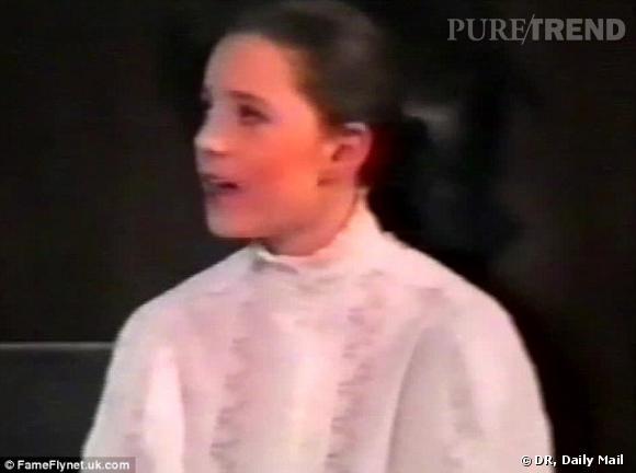 Kate Middleton à l'âge de 11 ans, une jolie poupée.