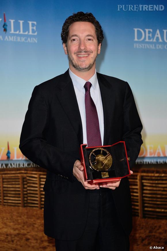 Guillaume Gallienne, lauréat d'un prix au Festival de Deauville pour Les garçons et Guillaume, à table ! le film.