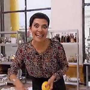 """Cristina Cordula s'éclate dans dans """"Top Chef 2014""""."""