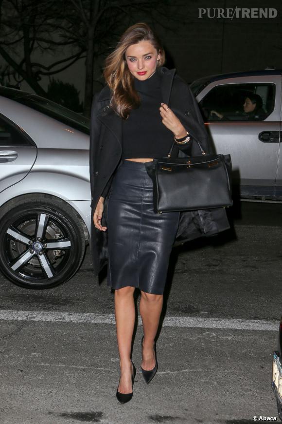Miranda Kerr est connue pour ses looks mode toujours très pointus.