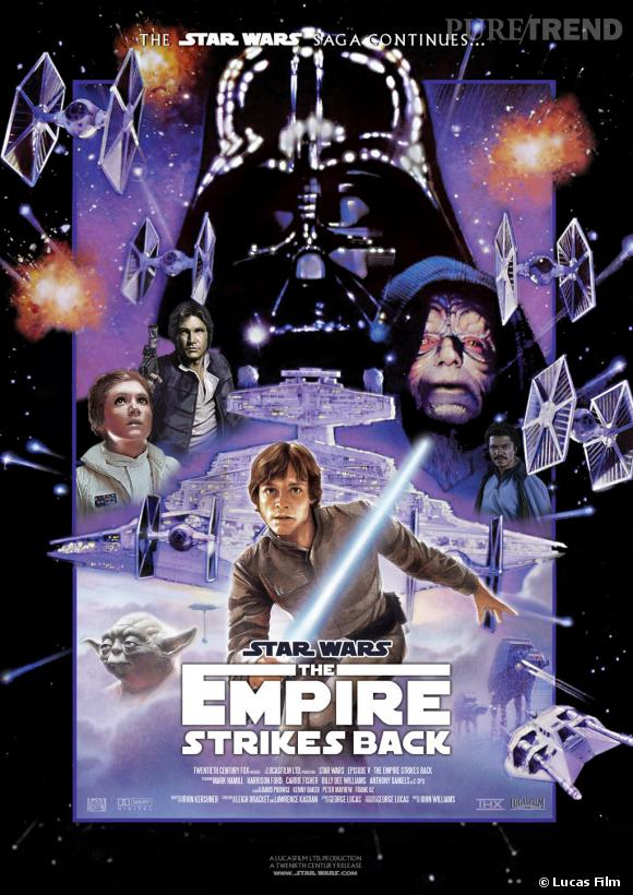 """Star Wars V : l'Empire Contre-Attaque"", le favori des fans."
