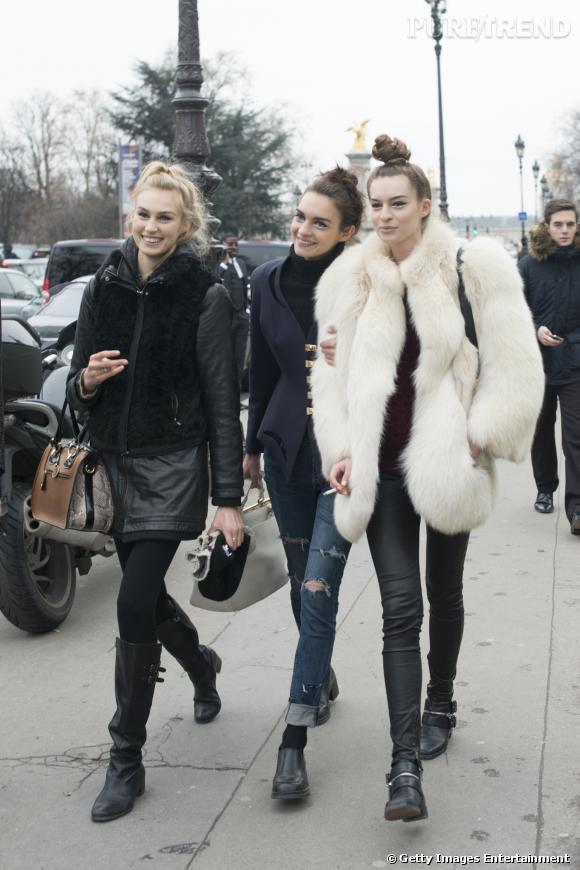 S'habiller en hiver, tout un art.