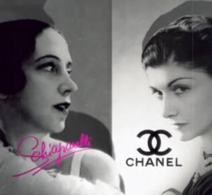 """Teaser du documentaire """"Chanel - Schiaparelli, le noir et le rose"""" diffusé ce soir sur France 5 dès 21h35."""