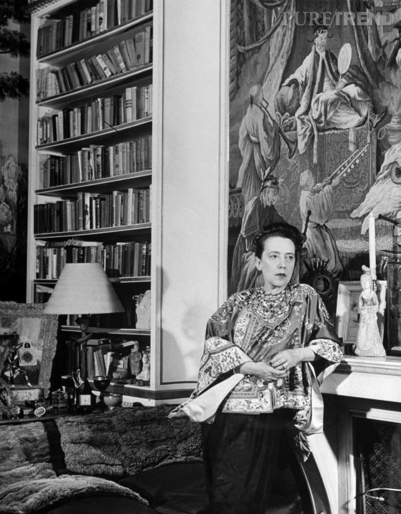 Elsa Schiarapelli dans sa maison.