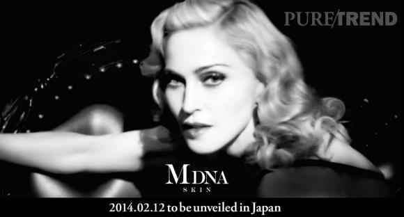 MDNA Skin, la ligne de cosmétiques de Madonna bientôt révélée... Mais seulement au Japon.