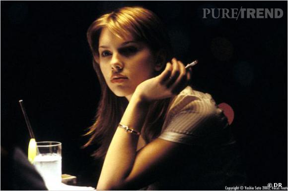 """Scarlett Johansson dans le film """"Lost In Translation"""" de Sofia Coppola."""