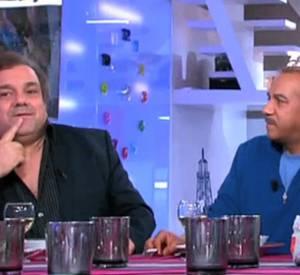 """Les Inconnus répondent aux critiques sur le plateau de l'émission """"C à vous"""" hier soir sur France 5."""