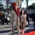 Rose McGowan, en 1998, nue sur le tapis rouge des VMAs.