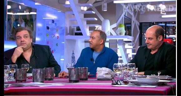 """Didier Bourdon, Pascal Légitimus et Bernard Campan étaient les invités de """"C à Vous"""", mais ils se sont également exprimés au micro de RTL."""