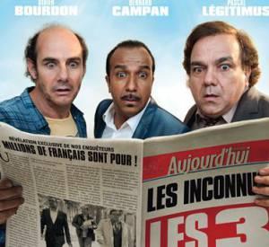 """""""Les Trois Frères, le retour"""" sorti au cinéma le 12 février 2014, il a fait 952 000 tickets vendus entre mercredi et dimanche."""
