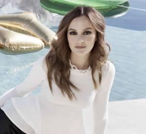 Leighton Meester égérie glamour et mode de Nelly.com
