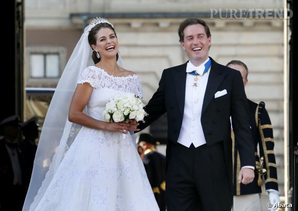 Princesse Madeleine de Suède et  Chris O'Neill avaient fait un mariage grandiose l'été 2013, ils sont les heureux parents d'une fille.