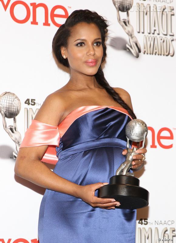 Kerry Washington aux NAACP Image Awards 2014 samedi soir dernier.
