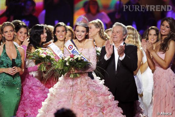 Élue Miss France 2012, c'est vers une carrière politique que se lance Delphine Wespiser.