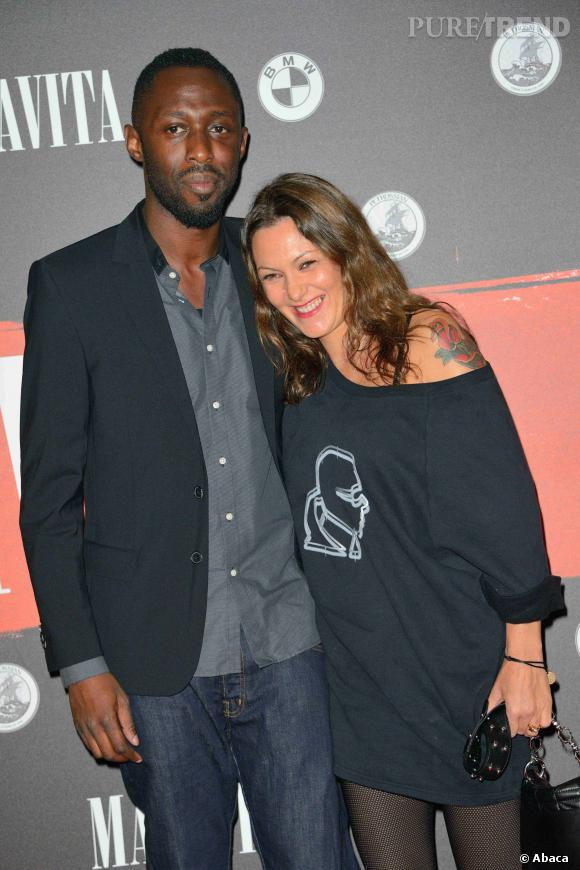 Karole Rocher est enceinte de son troisième enfant, une petite fille.