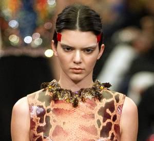 Kendall Jenner : star méconnaissable du défilé Givenchy Automne-Hiver 2014/15