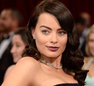 Oscars 2014 : Margot Robbie brune, personne ne la reconnait !