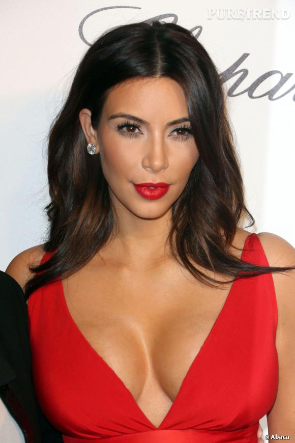 Kim kardashian refoul e la soir e vanity fair des oscars 2014 - Comment faire le maquillage de kim kardashian ...