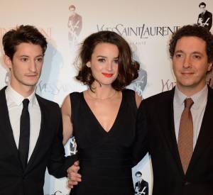 Yves Saint Laurent, Charlotte Le Bon et Guillaume Gallienne, équipe du film Yves Saint Laurent.