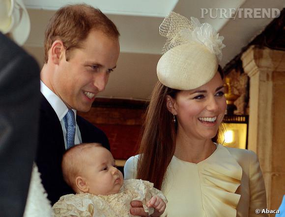 Kate Middleton, le prince William et le prince George s'envoleront le 7 avril pour la Nouvelle Zélande.