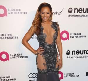 Mel B, l'ex Spice Girls, a fait une apparition ultra-sexy sur tapis rouge pour un gala de charité organisé par Elton John, le 2 mars 2014.