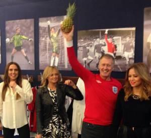 L'association Sport Relief a montré les backstages avec Mel C et Emma Burton sur son Twitter.