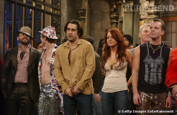 Colin Farrell et Lindsay Lohan ont eux aussi été amants.
