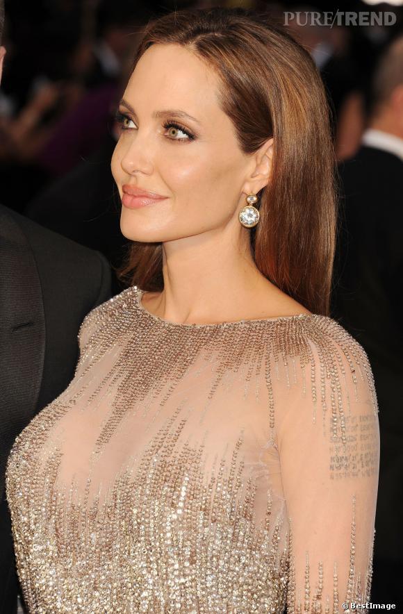 Angelina Jolie aux Oscars, le 2 mars 2014.