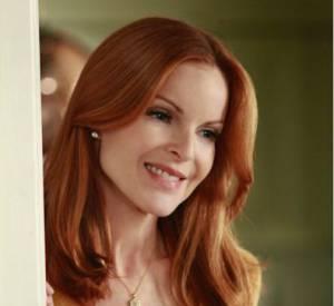 """Marcia Cross joue Bree van de Kamp dans la série """"Desperate Housewives"""". Une rousse culte !"""