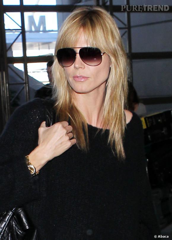 Non Heidi n'est pas une vraie blonde. Et pourtant c'est une réussite pour le mannequin, qui chouchoute sa chevelure de rêve au quotidien.