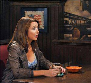"Lily (Alyson Hannigan) dans ""How I Met Your Mother""."