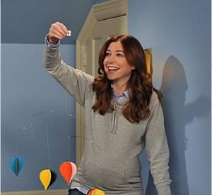 """Lily décore la chambre de son futur enfant dans """"How I Met Your Mother""""."""