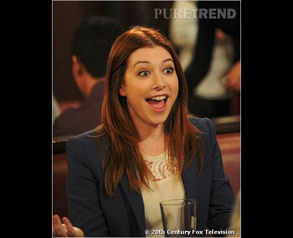 """La très joyeuse Lily (Alyson Hannigan) dans """"How I Met Your Mother""""."""
