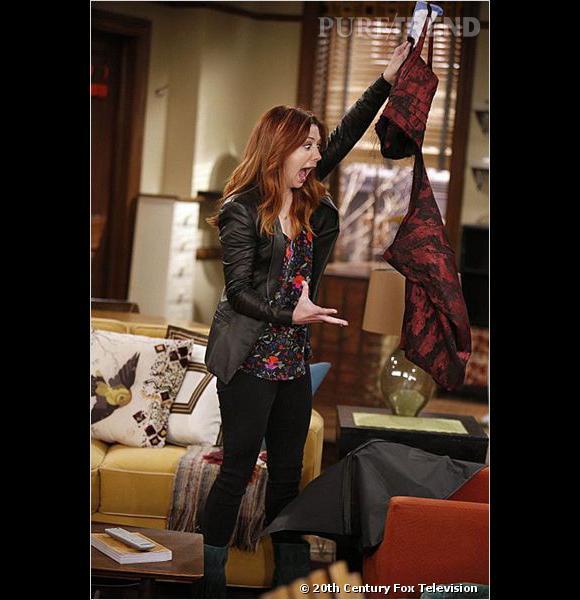 """Lily en voit de toutes les couleurs dans la dernière saison de """"How I Met Your Mother""""."""