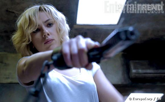 """Scarlett Johansson dans """"Lucy"""" de Luc Besson : une première image révélée."""