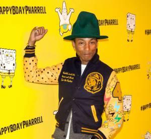 Pharrell Williams, star malgré lui ? Son succès n'en finit pas de l'étonner !