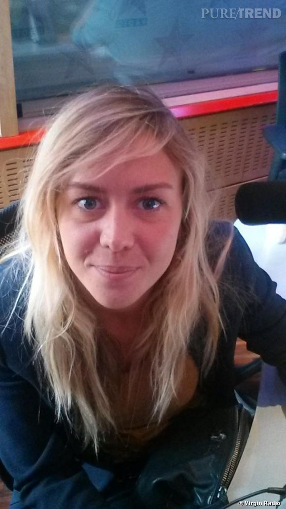 """Enora a posté sur le site de Virgin Radio un selfie sans make-up pour répliquer à une attaque d'un des auditeurs de """"Enora Le Soir""""."""