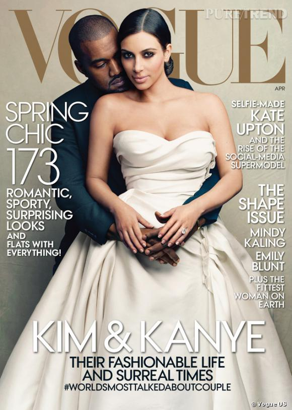 Kanye West et Kim Kardashian se son marié pour Vogue US, vont-ils pouvoir se marier en France ?