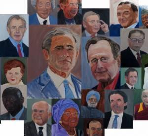 """George W. Bush, pris en flagrant délit de """"copiage"""" sur Google images ?"""
