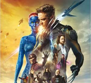 """Omar Sy et Ellen Page dans la scène d'ouverture de """"X-Men : Days of Future Past""""."""