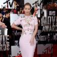 Iggy Azalea, prix de l'audace en Galliano aux MTV Movie Awards le 13 avril 2014 à Los Angeles.