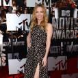 Leslie Mann, le fendu des MTV Movie Awards le 13 avril 2014 à Los Angeles.