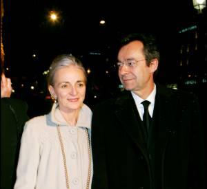 Michel Denisot et son épouse, avec qui il s'est marié en 1974.