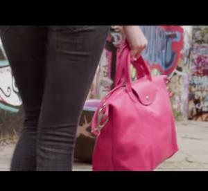 """Longchamp, son Pliage Cuir, des filles, du fun : un nouveau clip """"Unique"""""""