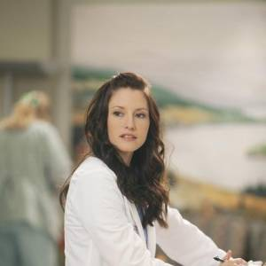 """Chyler Leigh dans la série """"Grey's Anatomy""""."""