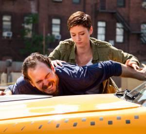 """Chyler Leigh dans la nouvelle série de TF1 """"Taxi : Brooklyn""""."""