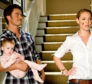 """Josh Duhamel et Katherine Heigl dans le film """"Bébé mode d'emploi""""."""