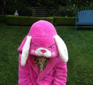 Marcia Cross célèbre aussi Pâques 2014 en famille.