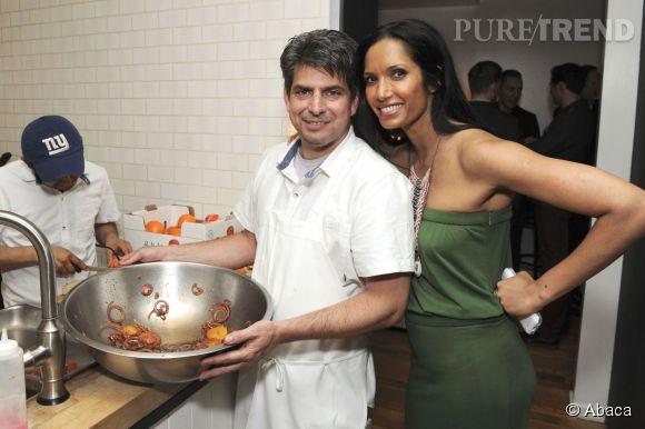 Depuis 2006, Padma Lakshmi présente la version US de Top Chef. Richard Gere espère peut-être qu'elle lui concoctera de bons petits plats...